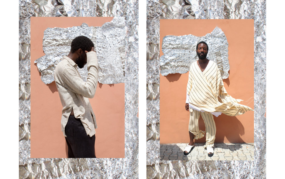Kenneth Ize's SS15 campaign shot in Lagos, Nigeria